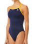 TYR Women's Hexa Diamondfit Swimsuit - Navy/Gold