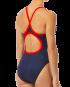 TYR Women's Hexa Diamondfit Swimsuit - Navy/Red