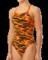 TYR WOMEN'S MIRAMAR DIAMONDFIT SWIMSUIT - Black/Orange