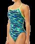 Women's Miramar Diamondfit Swimsuit - Blue/Green