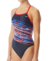 TYR Women's Victorious Diamondfit Swimsuit - Red/White/Blue