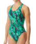 TYR Women's Brandello Maxfit Swimsuit   - Green
