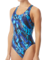 TYR Women's Brandello Maxfit Swimsuit   - Blue