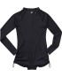 Solid Fiona L/S 1Pc - Black