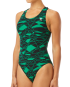 TYR WOMEN'S MANTOVA MAXFIT SWIMSUIT - GREEN