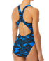 TYR WOMEN'S MANTOVA MAXFIT SWIMSUIT - BLUE