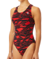 TYR WOMEN'S MANTOVA MAXFIT SWIMSUIT - RED