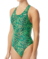 TYR Women's Swarm Maxfit Swimsuit  - Green