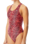 TYR Women's Swarm Maxfit Swimsuit  - Red