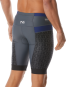 "TYR Men's 9"" Competitor Tri Short - Grey/Navy"