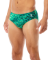 TYR MEN'S PLEXUS HERO RACER SWIMSUIT - Green