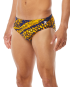 TYR MEN'S PLEXUS HERO RACER SWIMSUIT - Navy/Gold