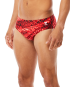TYR MEN'S PLEXUS HERO RACER SWIMSUIT - Red