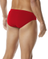 TYR Men's Breakaway Water Polo Racer  - Red