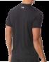 TYR Men's Short Sleeve Rashguard - Black