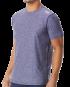 TYR Men's Vista Short Sleeve Rashguard - Navy