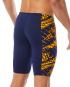 TYR MEN'S PLEXUS HERO JAMMER SWIMSUIT - Navy/Gold