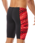TYR MEN'S PLEXUS HERO JAMMER SWIMSUIT - Red