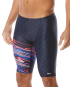 TYR Men's Victorious Jammer Swimsuit - Red/White/Blue
