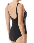 TYR Women's Byron Bay Scoop Neck Controlfit - Black/Blue