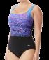 TYR Pink Women's Arctic Scoop Neck Controlfit Swimsuit - Purple/Blue