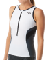 TYR Women's Competitor Singlet - White/Grey