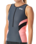 TYR Women's Competitor Singlet - Grey/Coral
