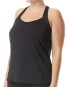 SOLID SONIA TANK - BLACK