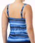 TYR Women's Tramonto Twisted Bra Tankini - Blk/Grey