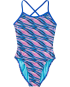 TYR Pink Girls' Adrift Trinityfit Swimsuit