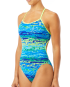 TYR Women's Serenity Trinityfit Swimsuit - Blue/Green