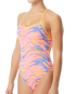 TYR Women's Wave Rider Trinityfit Swimsuit  - Pink/Blue