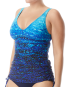 TYR Women's Arctic V-Neck Tankini - Navy/Blue